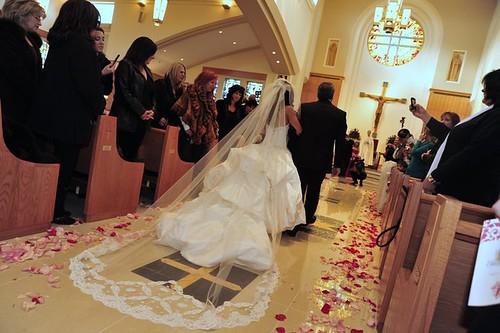 Bridal Styles real bride Dina