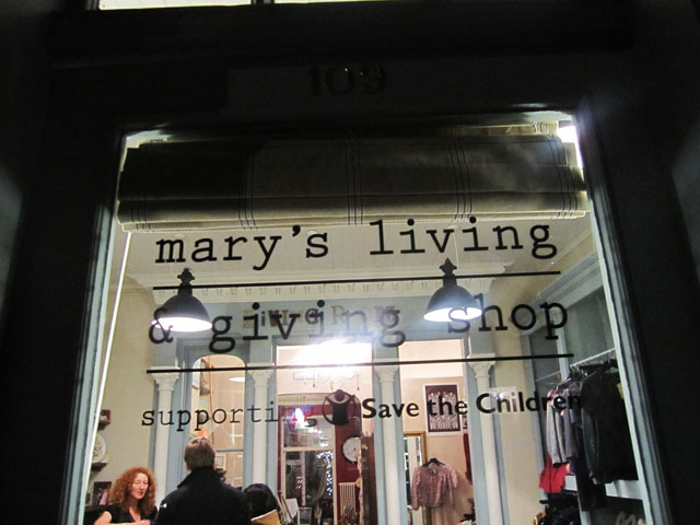 marys living and giving shop in primrose hill