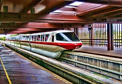 Monorail Red (Ray Horwath) Tags: nikon disney disneyworld hotels monorail nikkor wdw waltdisneyworld resorts poly hdr topaz d300 cs4 disneytransportation nikkorlens polynesianresort horwath monorailstation monorailred disneyspolynesianresort disneyresorts expressmonorail disneyphotos disneyhotels nikkor18mm200mmlens rayhorwath disneymonorails topazadjust4