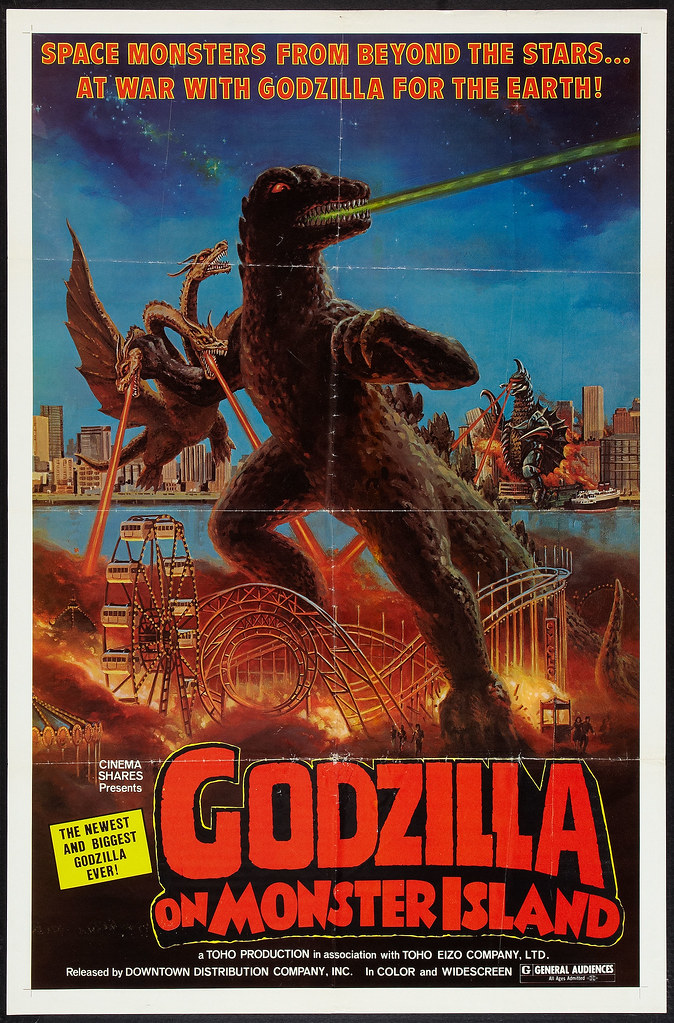 Godzilla on Monster Island (Downtown Distribution, 1977)