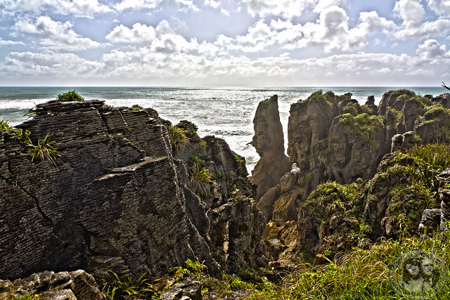 Limestone Formations @ Pancake Rocks