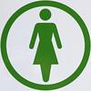 Ladies - Women (Leo Reynolds) Tags: squaredcircle canon eos 7d 0006sec f56 iso100 109mm signinformation signcircle signrestroom sqset059 xleol30x hpexif sign xx2011xx