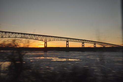Hudson River Sunset 5