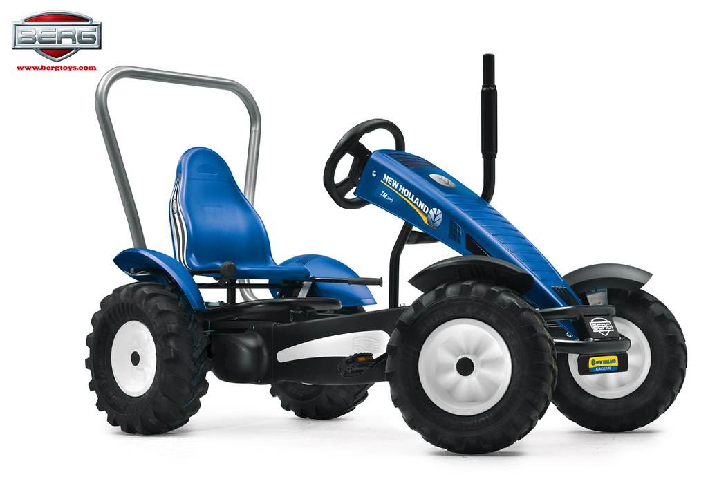 New Holland Pedal Go-Kart Tractor