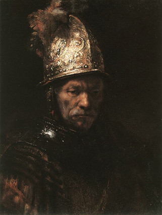 Man with a Golden Helmet, Rembrandt