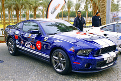 Mustang Shelby Cobra - GulfRun Group 360Mall 2011 (HDR) (Nasser Al Mousa) Tags: car by photo al 360 shelby kuwait mustang nasser 2010 mousa 2011    exb     gulfrun 505hp  360mall