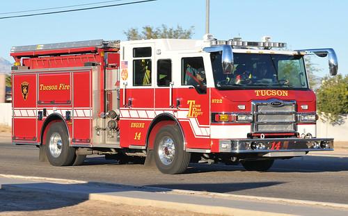 Flickriver random photos from tucson fire department tfd arizona tucson fire engine 14 freerunsca Choice Image