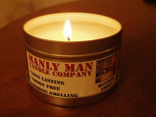 Manly Man Candle