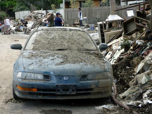 Brisbane Flood Aftermath, 16th January 2011