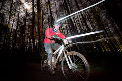 The Strathpuffer 24 hour Mountain Bike race (www.AlastairHumphreys.com) Tags: bike bicycle night forest mountainbike mtb 24hourrace strathpeffer strathpuffer