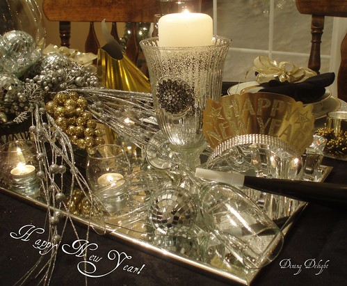 Dining Delight New Year S Eve Tablescape