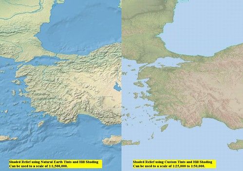 Turkey - SRTM Vector Modified