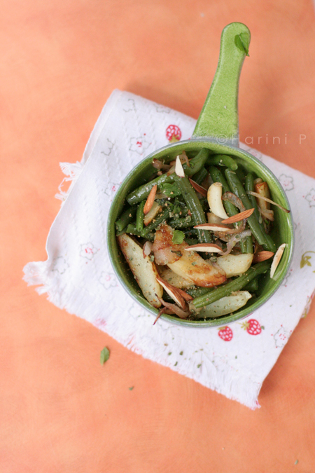 Green Beans and Potato Saute