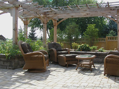 Patio installed by Switzer's