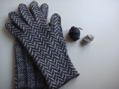 Herringbone Gloves for men