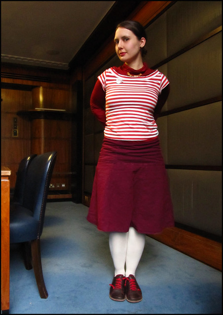 stripey stripes and lots of red