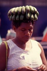 On me 'ead son. (Southsea_Matt) Tags: market banana national papuanewguinea