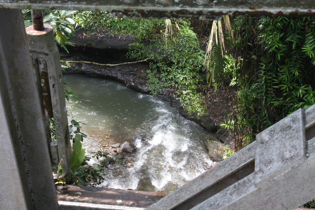 River under the bridge, Ubud, Bali