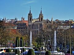 Madrid Neptuno y los Jerónimos (ferlomu) Tags: madrid fuente neptuno jerónimos ferlomu olétusfotos