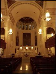 Holy Cross view of the sanctuary