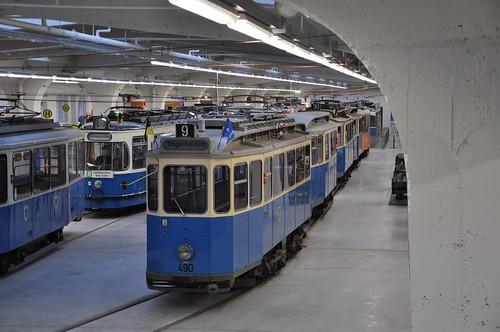 MVG-Museum: Fahrzeugparade