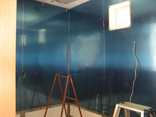 正面入口の塗装が終わりました♪(その3)