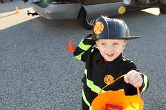 Candy (cassie_laporta) Tags: boy cute halloween girl fun purple candy fairy trick firefighter teat jan2