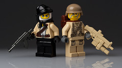 Modern Warfare (~Ghost Soldier~) Tags: modern soldier lego warfare hac brickarms