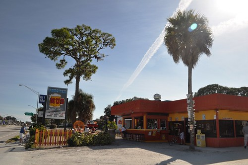 Frosted Mug: Burger Time in Venice, Florida