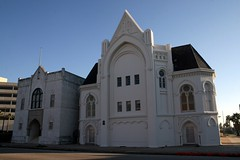 masonic temple; originally b'nai israel congregation (Exquisitely Bored in Nacogdoches) Tags: galveston gothic synagogue masons masonictemple gothicrevival galvestontexas nicholasjclayton nicholasclayton bnaiisrael bnaiisraelcongregation