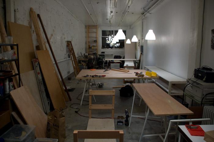 FreeTime Renovation progress.