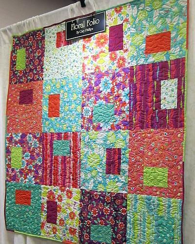 Clothworks Floral Folio Quilt