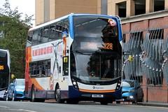 10524 SN16OML Stagecoach Western (busmanscotland) Tags: 10524 sn16oml stagecoach western sn16 oml ad adl alexander dennis e40d enviro 400 mmc e400 e400mmc cumbernauld go