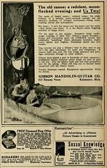 Vintage Advert for the Gibson Mandolin-Guitar Company: Motion Picture Classic Jan 1920 (CharmaineZoe's Marvelous Melange) Tags: 1920s film vintage magazine advertisement nostalgia advert twenties filmmagazine