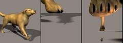 Render 5 (diegokawasaka) Tags: horse dog macro giant paw wolf tiger lion diego human tiny micro gore stomp crunch anthro vore kawasaka
