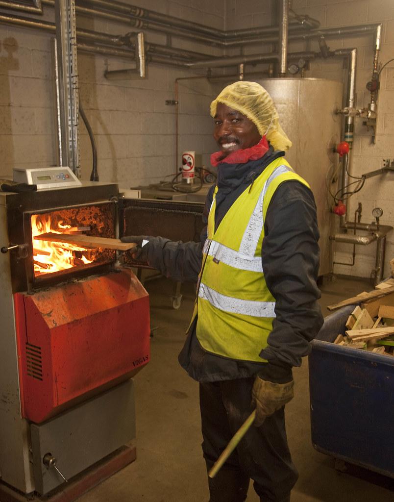 Branston - biomass boiler