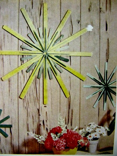 DIY Retro Wreath: Better Homes and Gardens (1967)