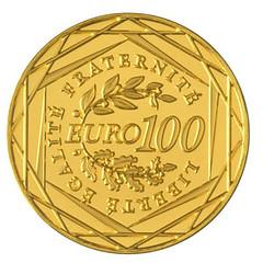 France100 Euros reverse