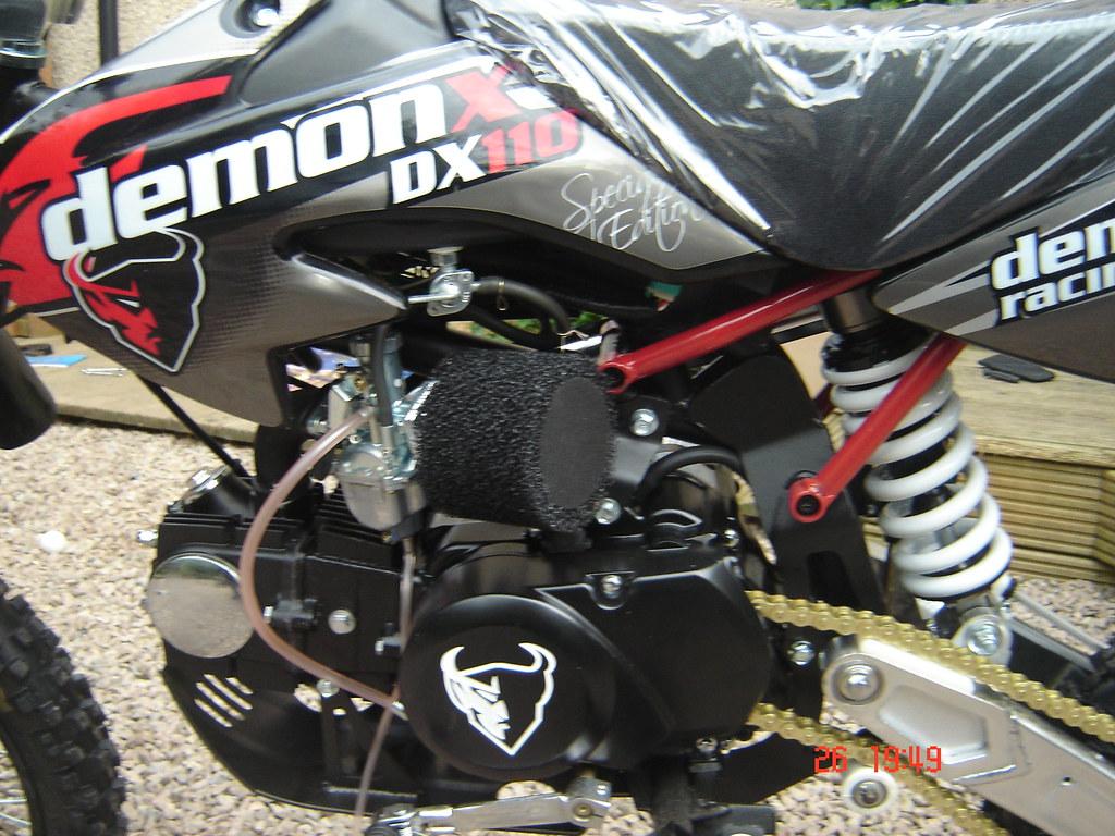 Pit-Bike, Demon dx110, Callums pit-bike-