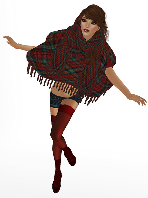 Poncho by CHANTKARE  for The With Love Hunt ...From