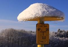 Mushroom novelty! (:Linda:) Tags: snow ice germany village thuringia eis pilz eon gassign erdgas brünn similarto geschrieben resembling ähnlich geschriebenes resemblingmushroom
