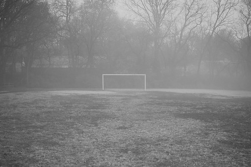 Lone goal. by PV KS, on Flickr