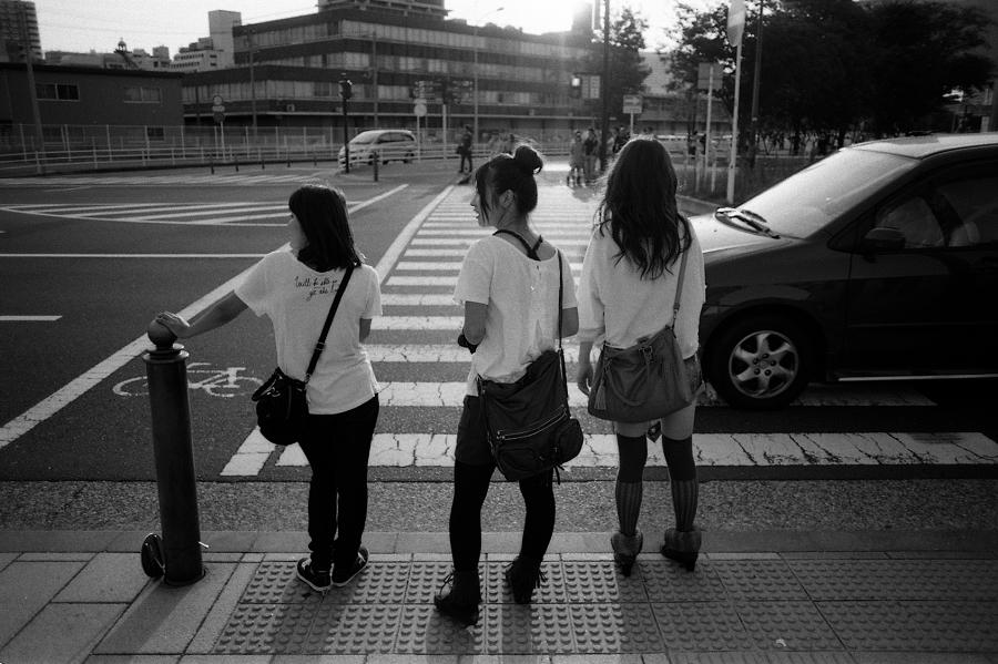 一邊散步一邊拍照 很愜意