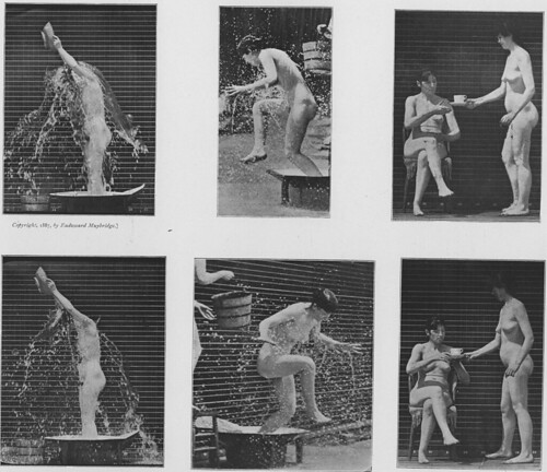 'Various Acts of Motion', The Human Figure in Motion (1901)