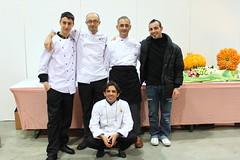 Mario Ragona, Rossano Vinciarelli & C. Villeroy & Boch Culinary World Cup Lussemburgo 2010.