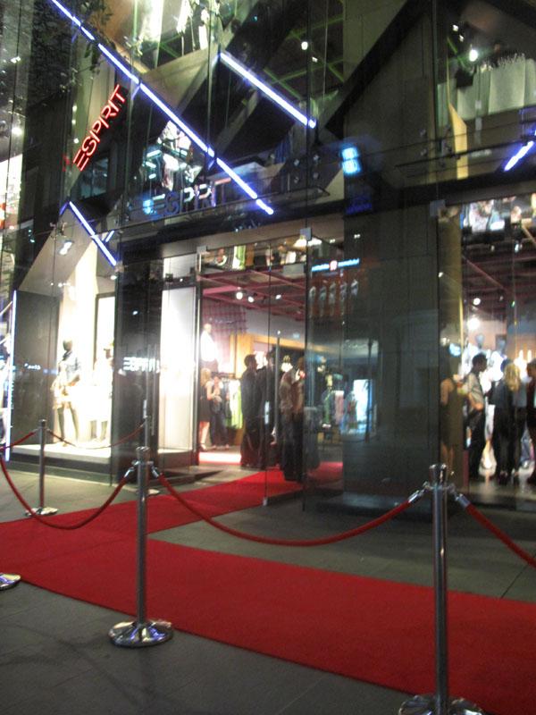 Store Front, ESPRIT Icon store launch Sydney