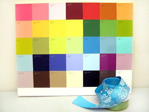 Color Swatch board