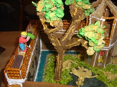One view of my gingerbread project
