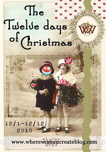 Where Women Create's The Twelve day of Christmas (happy zombie style)