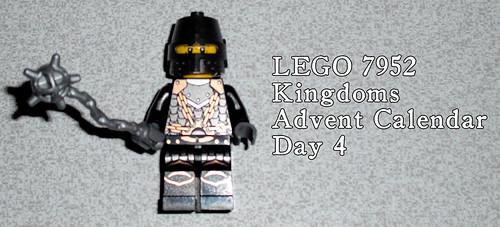 LEGO 7952 Kingdoms Advent Calendar - Day 4